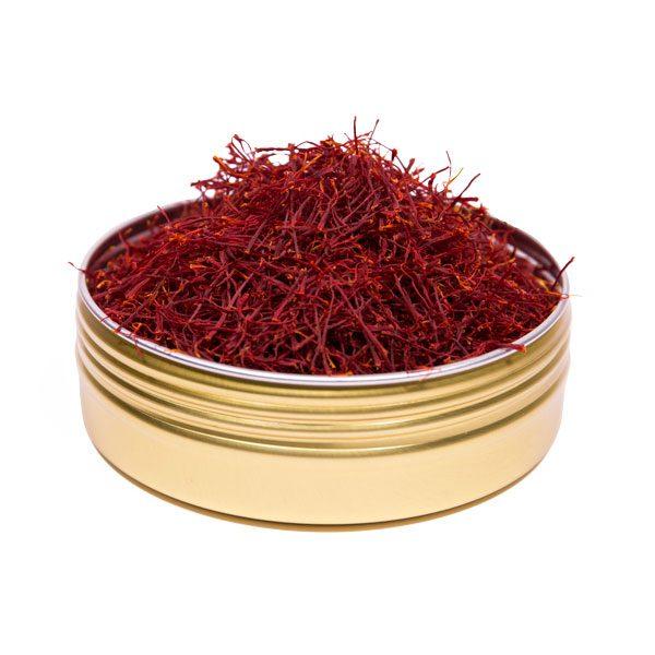 Saffraan in blik - 10 gram