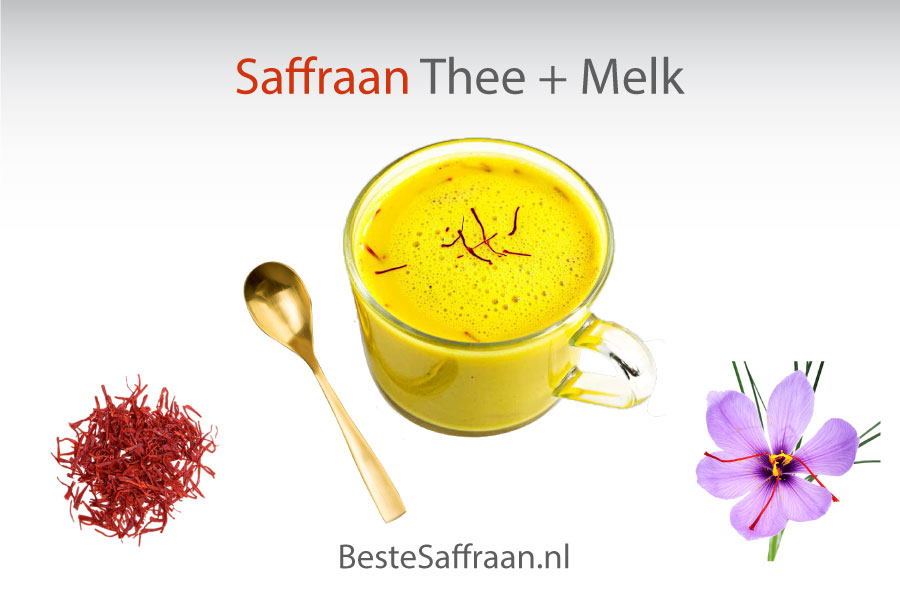 Saffraan-Melk